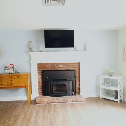 Dennis Cape Cod vacation rental - Upper level central AC, wood plank flooring & USB charging ports