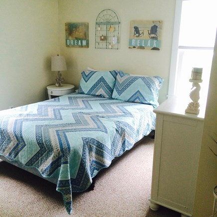 Dennis Cape Cod vacation rental - Queen BR 3 w/ 3' closet. All 3BRs w/ bureaus, berber  & USB ports
