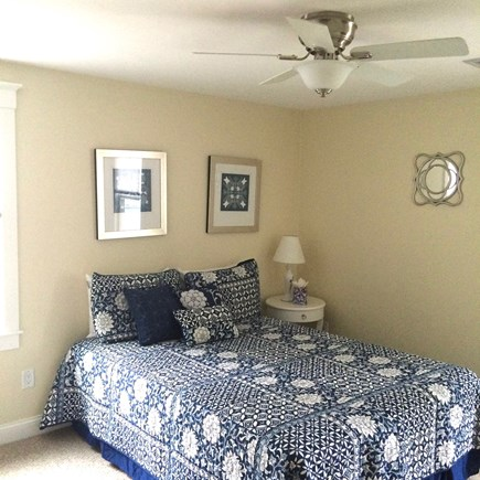 Dennis Cape Cod vacation rental - Master Queen BR 1 w/ private shower, fan/light, 6' closet, TV