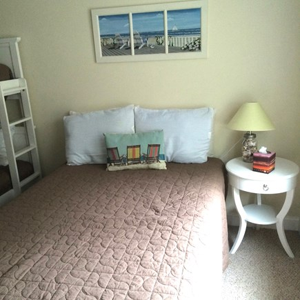 Dennis Cape Cod vacation rental - Guest Full BR 2 w/ bunk bed for small kids, 3' closet