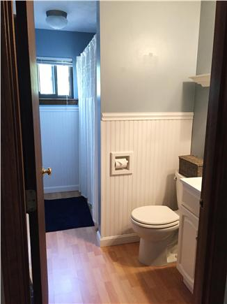 Harwich Port Cape Cod vacation rental - Full bathrooms on upper and lower levels with shower/tub.