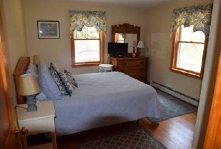 Wellfleet Cape Cod vacation rental - First floor Queen bedroom. 2 additional second floor Queen beds