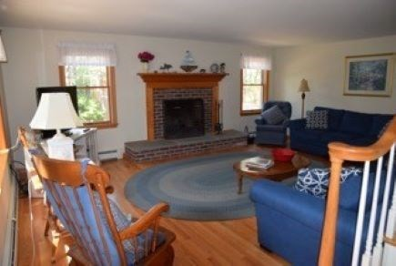 Wellfleet Cape Cod vacation rental - Another view of the living room