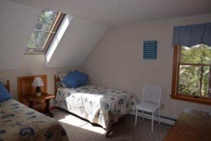 Wellfleet Cape Cod vacation rental - Second of twin upstairs bedrooms
