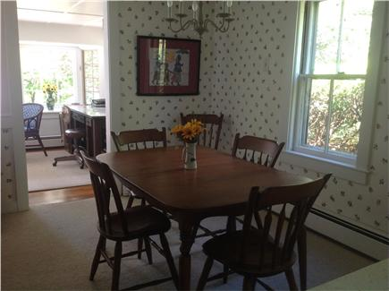 South Wellfleet Cape Cod vacation rental - Dining area.