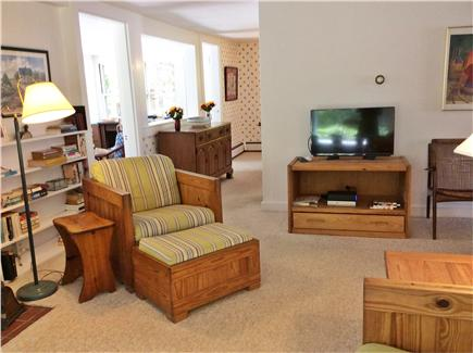 South Wellfleet Cape Cod vacation rental - Living room.