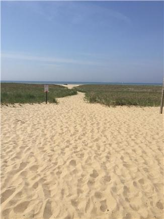 Provincetown Cape Cod vacation rental - Path to beach