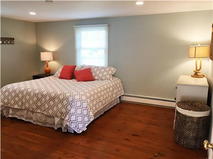 Chatham Cape Cod vacation rental - Master bedroom with King bed & TV