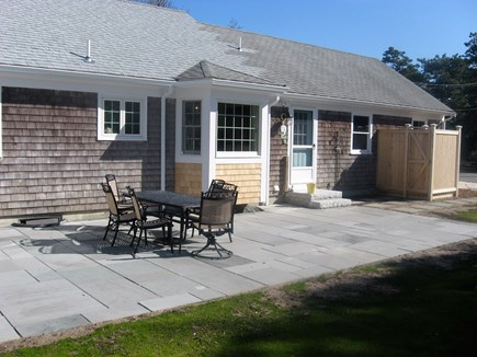 Chatham Cape Cod vacation rental - Closer view of patio & outdoor shower