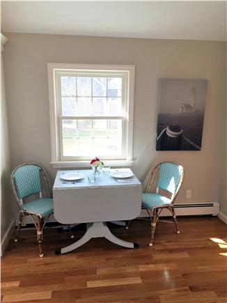 Chatham Cape Cod vacation rental - Side dining table