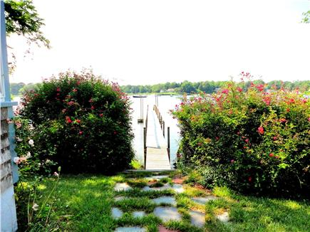 East Orleans Cape Cod vacation rental - Private dock on Meetinghouse Pond