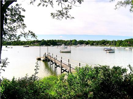 East Orleans Cape Cod vacation rental - Private dock on Meeting house pond that leads out to Pleasant Bay
