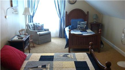 Orleans Cape Cod vacation rental - 2nd floor bedroom with 2 twin beds and trundle for 7th guest.