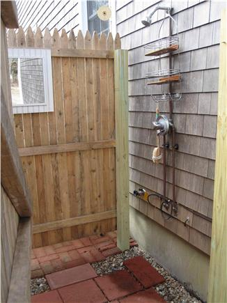 Orleans Cape Cod vacation rental - Outdoor shower-great for after beach or a shower under the stars