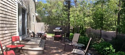 Orleans Cape Cod vacation rental - Lots of seating w/grill & picnic table for fun meals together.