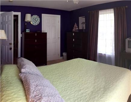 Orleans Cape Cod vacation rental - Comfortable queen bed on 2nd floor with walk-in closet.