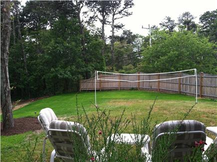 Orleans Cape Cod vacation rental - The large fenced in yard is great for sunbathing and games.