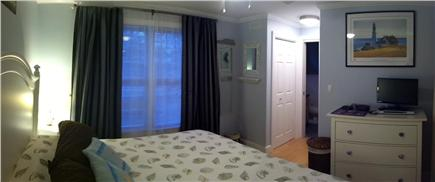 Orleans Cape Cod vacation rental - First floor master suite with jacuzzi tub in private bathroom.