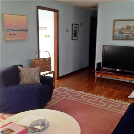 Hyannis Cape Cod vacation rental - Living room - Flat screen TV.  Basic cable & free WI-FI
