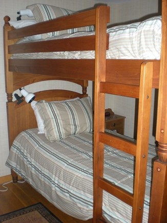 Harwich Cape Cod vacation rental - Third bedroom with bunk beds
