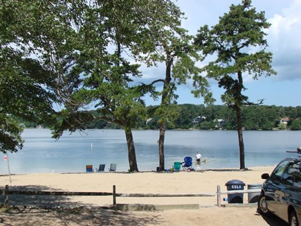 Harwich Cape Cod vacation rental - Bucks Pond beach within walking distance of the home