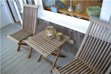 Eastham Cape Cod vacation rental - Enjoy your morning coffee on the screened-in porch.