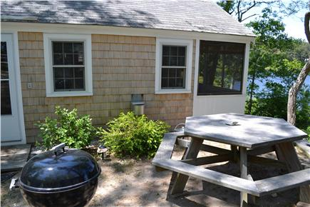 Eastham Cape Cod vacation rental - Make use of the picnic table and outdoor grill.