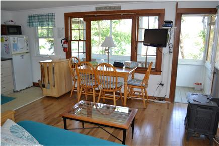 Eastham Cape Cod vacation rental - Enjoy the pond views from the main living area.