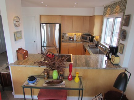 Provincetown Cape Cod vacation rental - Well equipped kitchen