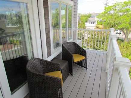 Provincetown Cape Cod vacation rental - Nice water views views and people watching from the balcony