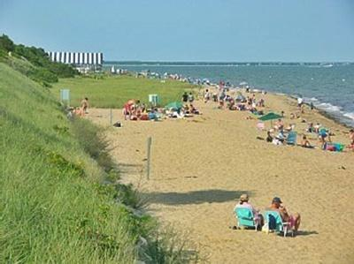 New Seabury Resort  New Seabury vacation rental - Private Maushop Beach with Popponesset Tent in backgroundhttp://w