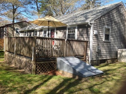 Mashpee, Popponesset Cape Cod vacation rental - Deck & Side Yard