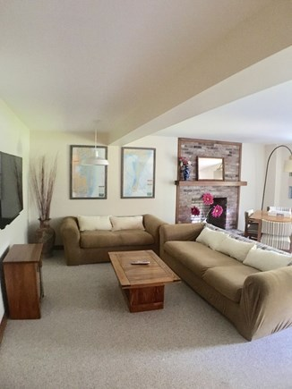 Chatham, Ridgevale Cape Cod vacation rental - Family/movie room with large TV