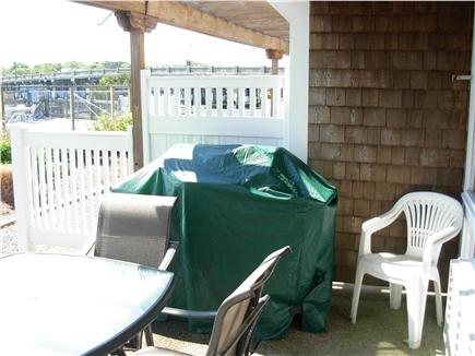 South Yarmouth Cape Cod vacation rental - Walk-out patio