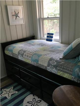 Dennisport Cape Cod vacation rental - Bedroom #3 with twin size bed and trundle
