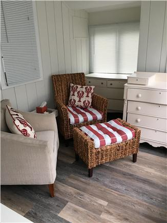 Dennisport Cape Cod vacation rental - Sitting area in master bedroom