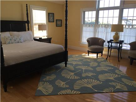 West Yarmouth Cape Cod vacation rental - 2nd floor master bedroom with King bed - faces Lewis Bay
