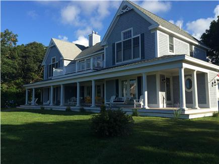 West Yarmouth Cape Cod vacation rental - Our beautiful home with huge porch, swing, & al fresco dining