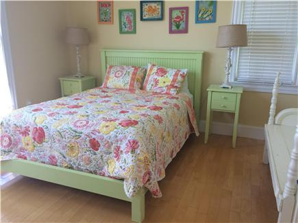 West Yarmouth Cape Cod vacation rental - 2nd floor queen bedroom - faces Lewis bay