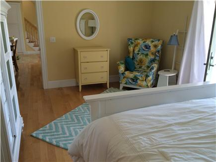 West Yarmouth Cape Cod vacation rental - Master bedroom sitting area - opens to kitchen/living room