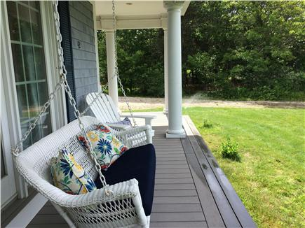 West Yarmouth Cape Cod vacation rental - Porch Swing