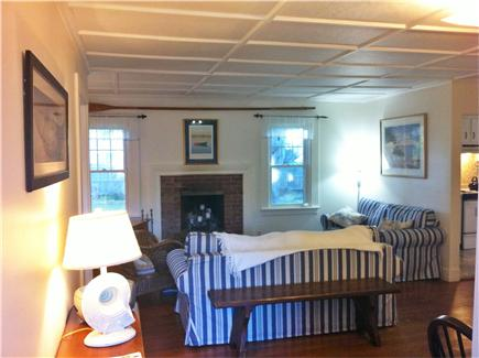 Chatham Harbor Fish Pier Cape Cod vacation rental - Living Area - TV, DVD and Wifi