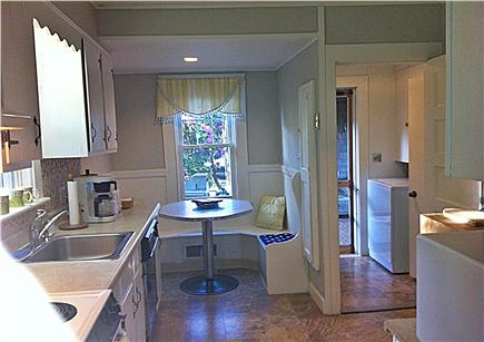 Chatham Harbor Fish Pier Cape Cod vacation rental - Kitchen Breakfast Nook