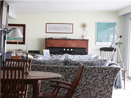 Wellfleet Cape Cod vacation rental - Large living room.
