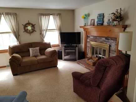 eastham Cape Cod vacation rental - New Living Room