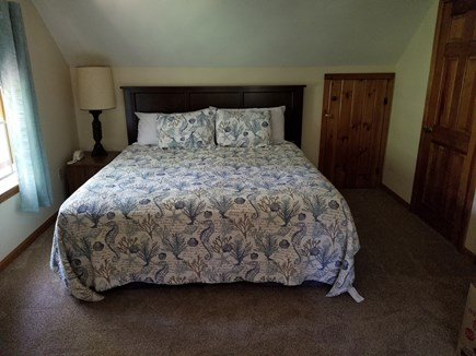 eastham Cape Cod vacation rental - New King bed in Master Bedroom May 2019