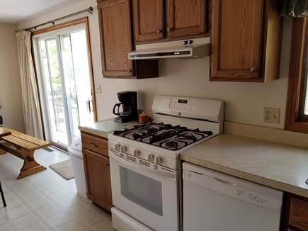 eastham Cape Cod vacation rental - Kitchen, has new GAS cooking range