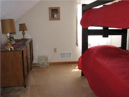 eastham Cape Cod vacation rental - Twin bunk beds- separate for 2 twins on floor, new mattresses