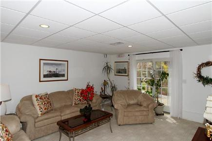 Harwich Cape Cod vacation rental - Living area in lower level area