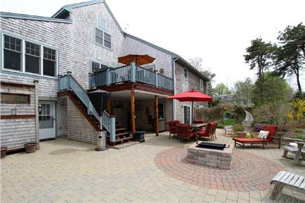 Harwich Cape Cod vacation rental - Enjoy the fabulous patio area with firepit and gas grill